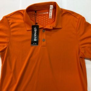 Adidas Climachill Short Sleeve Polo, Size Small